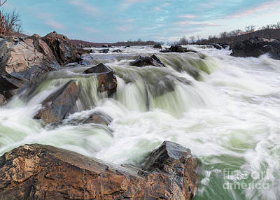 Photograph - Potomac Rapids of Great Falls Park by Brandon Adkins