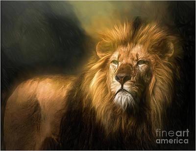 Animals Digital Art - Predator by Brian Tarr