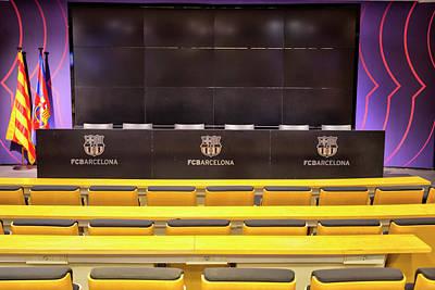 Whats Your Sign -  Press Room FC Barcelona by David Pyatt