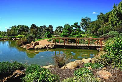 Safari - Pretty Botanical Gardens Dubbo by Kaye Menner by Kaye Menner