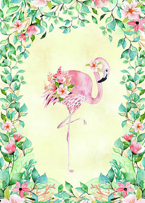 Keith Richards - Pretty Flamingo by Amanda Lakey