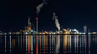 Photograph - Pretty Pollution -2 by Chris DeLaat