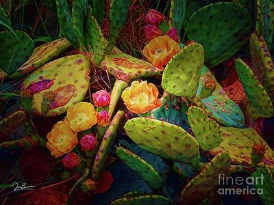 World War 2 Action Photography Royalty Free Images - Prickly Pear Dreaming Royalty-Free Image by Jon Burch Photography