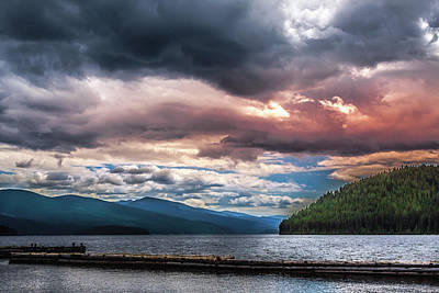 Fruits And Vegetables Still Life - Priest Lake Calm by David Patterson