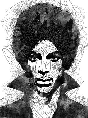 Anne Geddes Collection - Prince scribbles portrait by Mihaela Pater