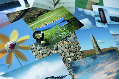 Photograph - Print Collage by Helen Northcott