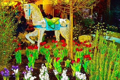 Grimm Fairy Tales - Providence RI Garden Show Digital 2 by Dianna Lawson
