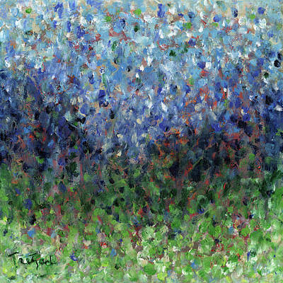 Painting - Psychedelic Hill by Lynne Taetzsch