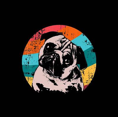 Lucille Ball - Pug Dog by Gati Senyata