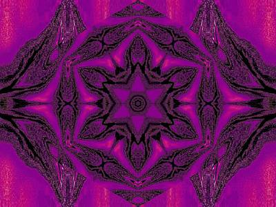 Wild And Wacky Portraits Rights Managed Images - Purple Desert Song 15 Royalty-Free Image by Sherrie Larch