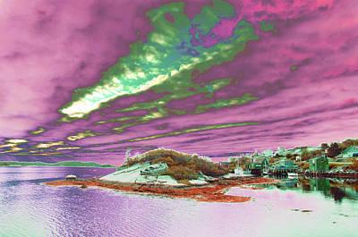 Photograph - Purple Skies by Mediamerge - Dan Roitner