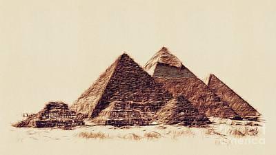 Modern Man Music - Pyramids of Egypt by Esoterica Art Agency