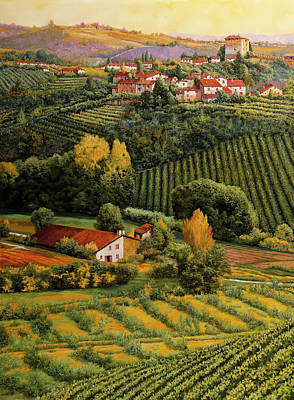 Royalty-Free and Rights-Managed Images - qua e la in Langa by Guido Borelli
