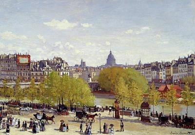 Watercolor Alphabet - Quai du Louvre by Celestial Images