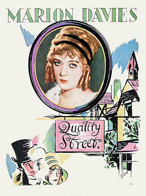 Travel - Quality Street, with Marion Davies, 1927 by Stars on Art