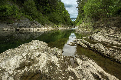 Landscapes Royalty-Free and Rights-Managed Images - Quechee Gorge 9 by Dimitry Papkov