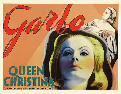 Royalty-Free and Rights-Managed Images - Queen Christina, with Greta Garbo, 1933 by Stars on Art