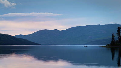 Photograph - Quietness on the Lake by Diana Rothgeb