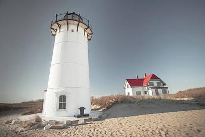 Photograph - Race Point Lighthouse Provincetown Cape Cod Wall Art by Dapixara by Dapixara Art