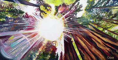 Painting - Radiance by Cedar Lee