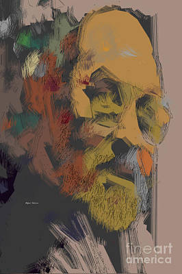 Vintage Presidential Portraits - Rafael Salazar - Self Portrait in Color by Rafael Salazar
