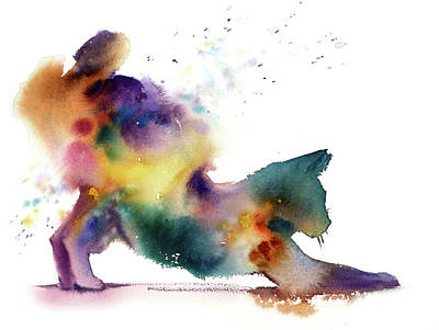 School Teaching - Rainbow cat by Sophia Rodionov