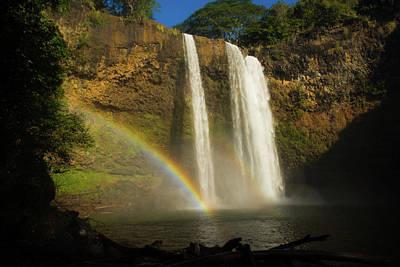 Photograph - Rainbow Falls #1 by Braden Moran