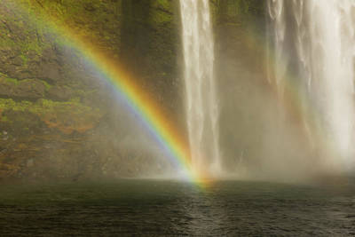 Photograph - Rainbow Falls #2 by Braden Moran