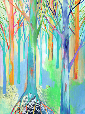 Royalty-Free and Rights-Managed Images - Rainbow Forest I by Jennifer Lommers