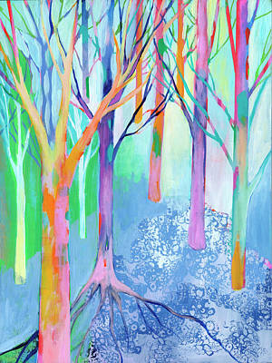 Royalty-Free and Rights-Managed Images - Rainbow Forest II by Jennifer Lommers