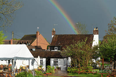 Royalty-Free and Rights-Managed Images - Rainbow over the Old Bush by Rob Hawkins