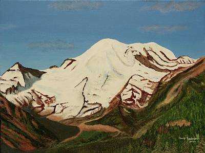 Painting - Rainier by Terry Frederick