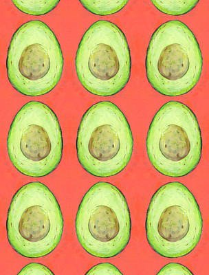 Royalty-Free and Rights-Managed Images - Raining Avocados by Jennifer Lommers
