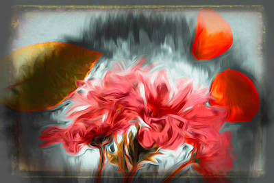 Surrealism Royalty-Free and Rights-Managed Images - Raining Neon by Jim Love