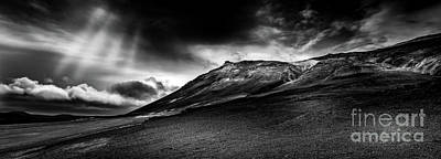 Design Pics - Rainstorm Approaching Krafla Iceland by Miles Whittingham