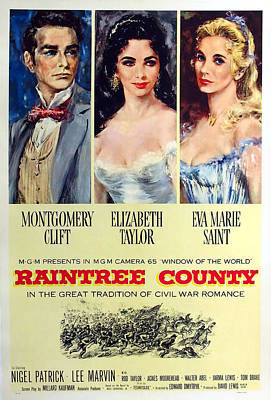 Granger - Raintree County 2, with Montgomery Clift and Elizabeth Taylor by Stars on Art
