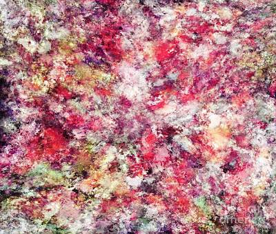 Digital Art - Rambling roses by Keith Mills