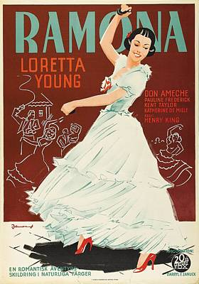 Royalty-Free and Rights-Managed Images - Ramona, 1936 -b by Stars on Art