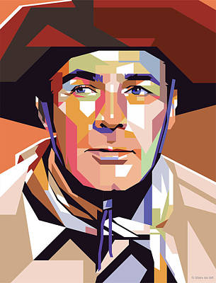 Royalty-Free and Rights-Managed Images - Randolph Scott by Stars on Art
