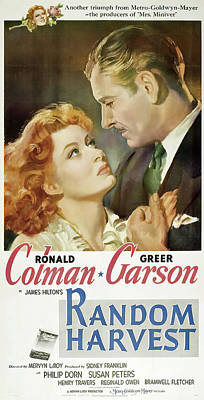 Royalty-Free and Rights-Managed Images - Random Harvest, with Ronald Colman and Greer Garson, 1952 by Stars on Art