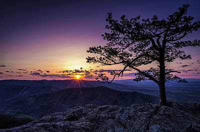 Photograph - Raven's Roost Sunset by Scott Thomas Images