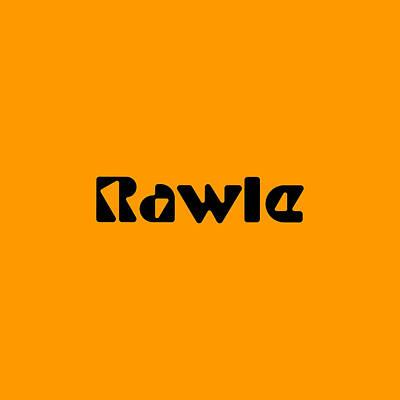 Digital Art - Rawle by TintoDesigns