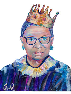 Painting - RBG - background removed by Christina Carmel