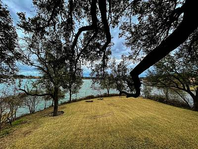 Word Signs - Reaching Out at Lake Granbury by Judy Vincent