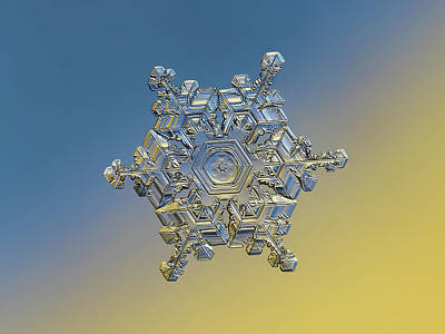 Rights Managed Images - Real snowflake - 05-Feb-2018 - 19 alt Royalty-Free Image by Alexey Kljatov