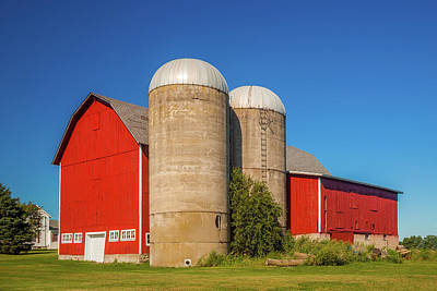 Royalty-Free and Rights-Managed Images - Red Barn by Andrew Soundarajan