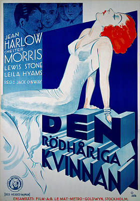 Royalty-Free and Rights-Managed Images - Red Headed Woman, 1932 by Stars on Art