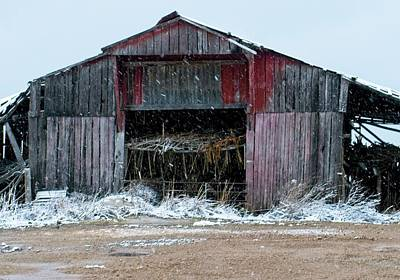 Anchor Down Royalty Free Images - Red Lipped Barn Royalty-Free Image by Douglas Barnett