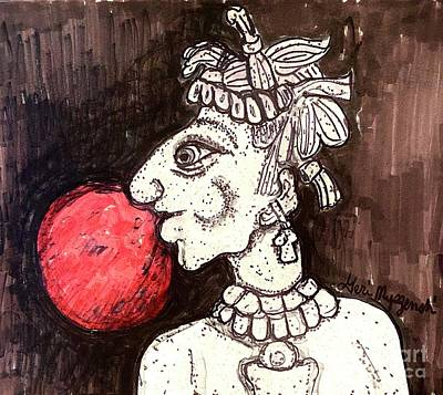 Spot Of Tea Royalty Free Images - Red Moon Tribe Royalty-Free Image by Geraldine Myszenski