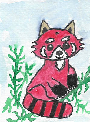 Painting - Red Panda by Leona Atkinson